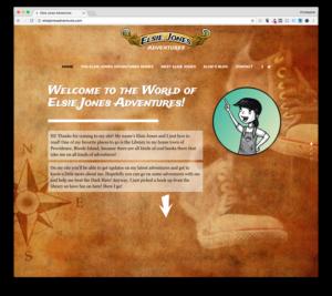 Web Design: Elsie Jones Adventures