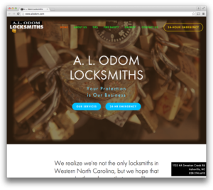 Web Design: A. L. Odom Locksmith