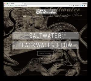 Web Design: Saltwater