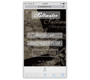 Mobile Web Design: Saltwater